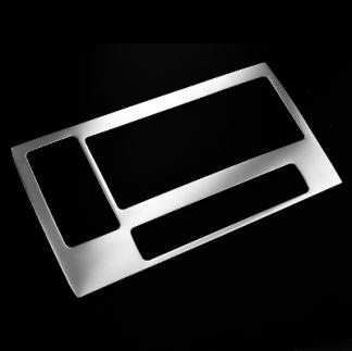 Накладка на консоль из нержавейки на Honda CR-V / Хонда СРВ 2012-2014