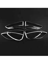 Хром комплект задних фонарей Хендай Тусан / Hyundai Tucson 2015-2016