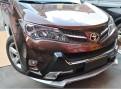 Хром накладка передних фар Тойота Рав 4 / Toyota Rav 4 2013-2015