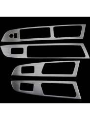Накладки из нержавейки на подлокотники дверей Subaru XV / Субару Икс Ви 2011-
