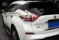 Хром накладка задних фонарей Ниссан Мурано / Nissan Murano 2016-2017