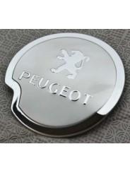 Накладка на лючок бензобака Peugeot 307 / Пежо 307 2004-2013
