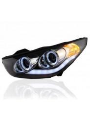 Альтернативная оптика передняя (фары) на Hyundai IX35 / Хендай Ай Икс 35  2010-2014