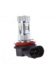 Светодиодная лампа H8 30W 6 led