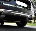Обвес переднего и заднего бампера Хонда СРВ 5 / Honda CR-V 5 2017-2019 из нержавеющей стали