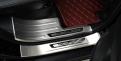 Накладки на пороги Мицубиси Аутлендер 3 / Mitsubishi Outlander 3 2013-2017