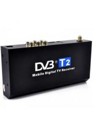 Автомобильный цифровой тв-тюнер DVB-T2