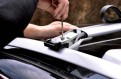 Рейлинги поперечные на крышу (поперечины) Опель Антара / Opel Antara 2011-2016