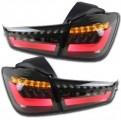 Стоп-сигналы светодиодные BMW Style для Mitsubishi ASX / Мицубиси АСХ 2013-2014