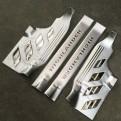 Комплект накладок на пороги для Toyota Highlander / Тойота Хайлендер 2012-2013