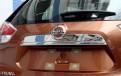 Хром накладка задней двери Ниссан Х-Трейл / Nissan X-Trail 2014-2016