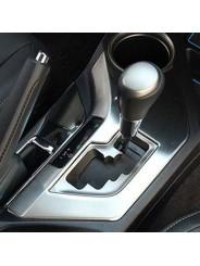 Накладка на консоль из нержавейки для Toyota Rav4 / Тойота Рав4 2013-2015