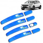 Хром накладки ручек дверей Ford Kuga / Форд Куга 2013-2019