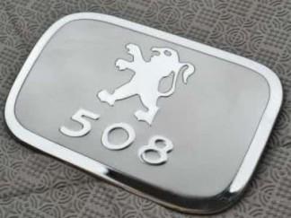 Накладка на лючок бензобака Peugeot 508 / Пежо 508 2011-2013