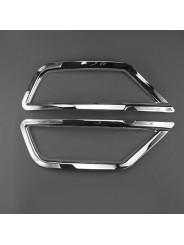 Хром накладка заднего бампера Форд Куга 2 / Ford Kuga 2 2017-