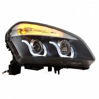Альтернативная оптика передняя (фары) Nissan Qashqai / Ниссан Кашкай 2008-2011