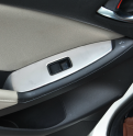 Накладки из нержавейки на подлокотники дверей Mazda CX-5 / Мазда СХ-5 2011-2014