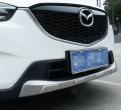Накладки из нержавеющей стали переднего и заднего бампера Mazda CX-5 / Мазда СХ5 2013-2014