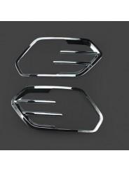 Хром накладка противотуманных фар Форд Куга / Ford Kuga 2017-