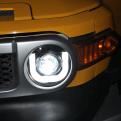 Альтернативная оптика передняя (фары) на Toyota FJ Cruiser / Тойота Эф Джей Крузер 2007-2014