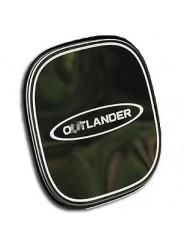 Накладка на лючок бензобака Мицубиси Аутлендер 3 / Mitsubishi Outlander 3 2013-2018