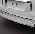 Накладка на задний бампер Toyota Prado / Тойота Прадо 2009-