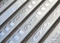 Комплект накладок на пороги для Mazda CX-5 / Мазда СХ5 2012-2014