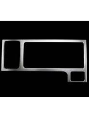 Накладка на консоль из нержавейки на Subaru XV / Субару Икс Ви 2011-