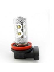 Светодиодная лампа H8 50W 10 led