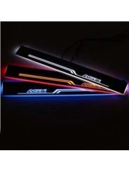 Накладки на пороги с подсветкой для Мицубиси Асх / Mitsubishi Asx 2010-2016