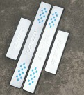Комплект накладок на пороги для Mazda 6 / Atenza / Мазда 6 Атенза 2014