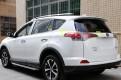 Хром накладка задних фонарей Тойота Рав 4 / Toyota Rav 4 2016-2017