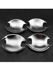 Хром накладки ручек дверей (чашки) Митсубиси Асх / Mitsubishi Asx 2011-2016