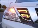 Дневные ходовые огни Nissan Patrol Y62 / Ниссан Патрол 2014-2018