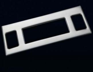 Накладка на консоль из нержавейки на Subaru Forester / Субару Форестер 2013-