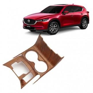 Накладка под дерево на подстаканник Mazda CX-5 / Мазда СХ-5 2017-2019