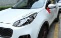 Хром накладка передних фар Киа Спортейдж 4 / Kia Sportage 4 2016-2017