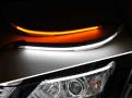 """Дневные ходовые огни """"реснички"""" для Toyota Camry / Тойота Камри  2012-2014"""