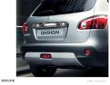 Накладки переднего и заднего бампера Nissan Qashqai / Ниссан Кашкай 2008-2012