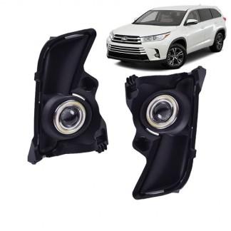 Противотуманные фары Тойота Хайлендер / Toyota Highlander 2016-2019