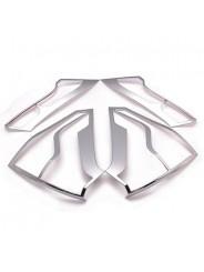 Хром накладка задних фонарей Хонда СР-В / Honda CR-V 2012-2014