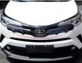 Накладка карбон Toyota C-HR 2017-2018