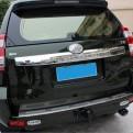 Хромированная накладка задней двери Тойота Прадо / Toyota Prado 2014-2016