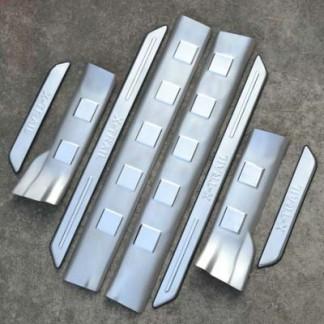 Комплект накладок на пороги Ниссан Х Трейл / Nissan X-Trail Т31 2008-2013