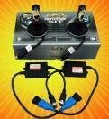 Комплект светодиодных автоламп головного света с цоколем HB3 (9005)