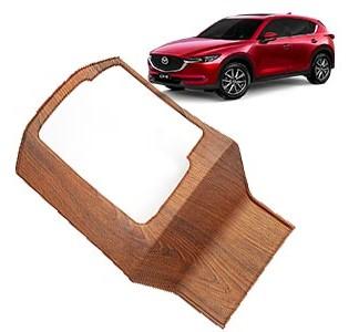Накладка на консоль под дерево Мазда СХ-5 / Mazda CX-5 2017-2019