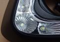 Светодиоды ходовых огней Митсубиси Паджеро Спорт 2 прикрыты поликарбонатным стеклом