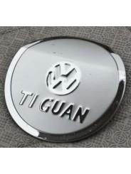 Накладка на лючок бензобака Volkswagen Tiguan / Фольксваген Тигуан 2010-2013