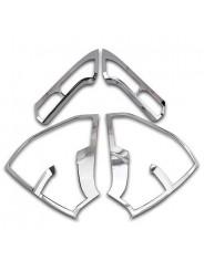 Хром накладка задних фонарей Хонда СР-В / Honda CR-V 2015-2016