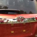 Хромированная накладка задней двери Тойота Рав 4 / Toyota Rav 4 2013-2015
